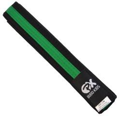 Phoenix PX Budo Kids Softbelt schwarz grün