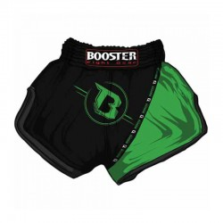 Booster TBT Pro 3 Thaiboxing Fightshorts Black And Green