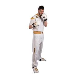 Top Ten Star Edition Kickboxuniform Weiss Gold Kids