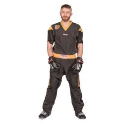 Top Ten Star Edition Kickboxuniform Schwarz Gold Kids