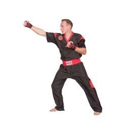 Top Ten Star Edition Kickboxuniform Schwarz Rot Kids