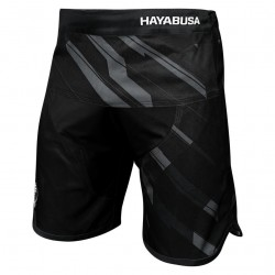 Hayabusa Metaru Charged Jiu Jitsu Shorts Black