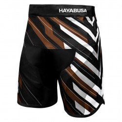 Hayabusa Metaru Charged Jiu Jitsu Shorts Brown