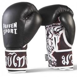 Paffen Sport Thai Star DryHand Boxhandschuhe Schwarz Weiss