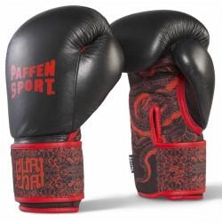 Paffen Sport Thai Star DryHand Boxhandschuhe Schwarz Rot