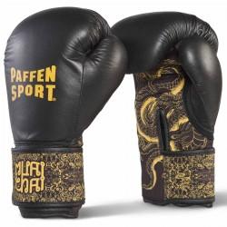 Paffen Sport Thai Star DryHand Boxhandschuhe Schwarz Gold