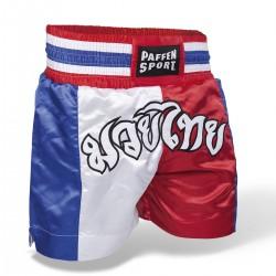 Abverkauf Paffen Sport Thai Thaihose Rot Weiss Blau