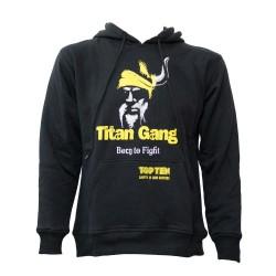 Top Ten Titans Hoodie Schwarz Gelb