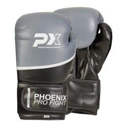Phoenix PX PRO FIGHT Boxhandschuhe PU Black Grey