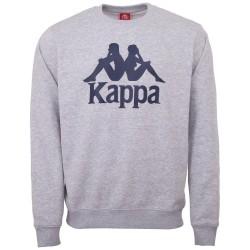 Kappa Sertum RN Sweatshirt Grey Melange