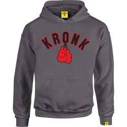 Kronk Gloves Hoodie Charcoal