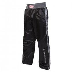 Paffen Sport Kick Star Kickboxhose Schwarz Grau