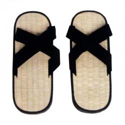 Zori Slipper X Style Reisstroh