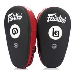 Fairtex FMV12 Angular Focus Pads Black Red