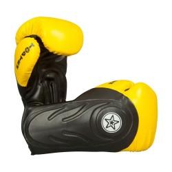 Top Ten Hero Sparringhandschuhe Schwarz Gelb
