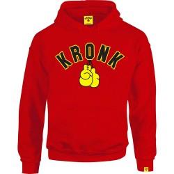 Kronk Gloves Hoodie Red