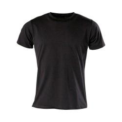 Kwon T-Shirt Neutral Tailliert Schwarz