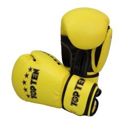 Top Ten R2M 2016 Boxhandschuhe Gelb Schwarz 10oz