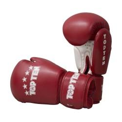 Top Ten R2M 2016 Boxhandschuhe Rot Weiss 10oz