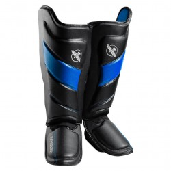 Hayabusa T3 Striking Shinguards Black Blue