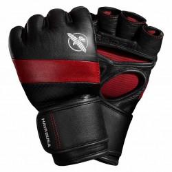 Hayabusa T3 4oz MMA Gloves Black Red