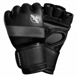 Hayabusa T3 4oz MMA Gloves Black Grey