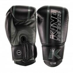 King Pro Boxing Boxhandschuh Elite 5 Black Green