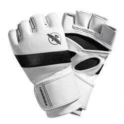 Hayabusa T3 4oz MMA Gloves White Black