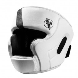 Hayabusa T3 Headguard White Black