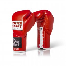 Paffen Sport Pro Classic Boxhandschuhe Rot