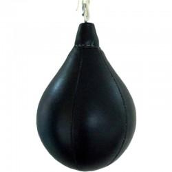Boxbirne Schwarz Leder
