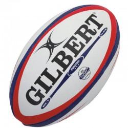 Gilbert Rugby Ball Photon Red Blue Gr.5