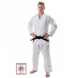 HIKU Slim Fit IJF Judo Gi Weiss
