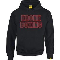 Kronk Boxing Hoodie Black Red