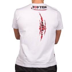 Top Ten Scratch T-Shirt Weiss