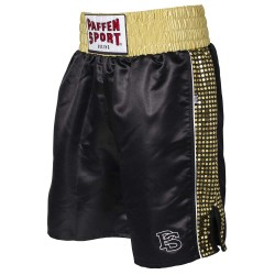 Paffen Sport Pro Glory Profi Boxerhose Schwarz Gold