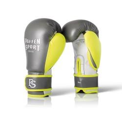 Paffen Sport Kids Boxhandschuhe Training Grau Neon Weiss