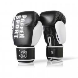 Paffen Sport Essential Sparring Boxhandschuhe Schwarz Weiss