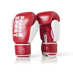 Paffen Sport Essential Sparring Boxhandschuhe Rot Weiss