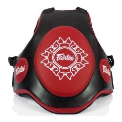 Fairtex TV2 Trainer Body Protector Black Red