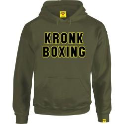 Kronk Boxing Hoodie Military Green