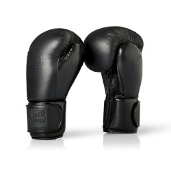 Paffen Sport Black Logo Sparring Boxhandschuhe