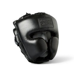 Paffen Sport Black Logo Sparring Kopfschutz
