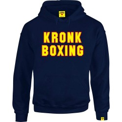 Kronk Boxing Hoodie Navy Red Yellow