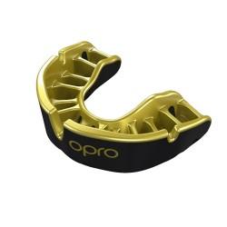 OPRO Zahnschutz Gold Senior schwarz