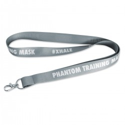 Phantom  Xhale Schlüsselband Logo Grau