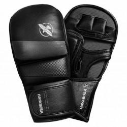 Hayabusa T3 7oz Hybrid Gloves Black Grey