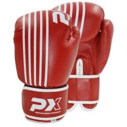 Phoenix PX Boxhandschuhe SPARRING PU rot weiß