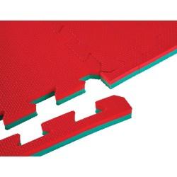 Bruce Lee Puzzlematte Rot Grün 2cm