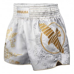 Hayabusa Falcon Muay Thai Short White